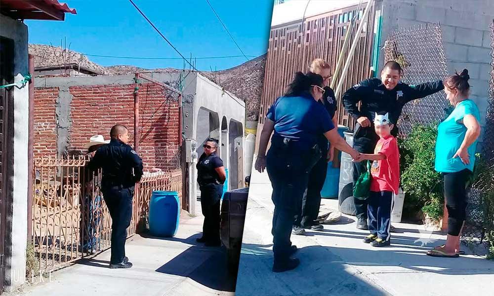Dan inicio operativos de proximidad social de la Policía Municipal de Tecate