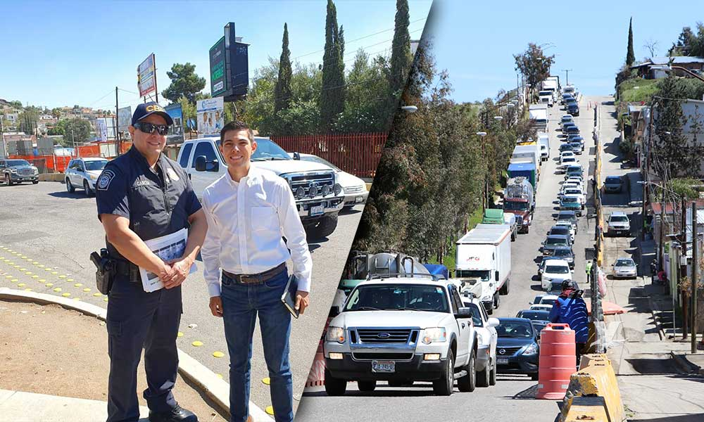 """""""Ready Lane debe ser una realidad en la Garita de Tecate"""": Regidor Román Cota"""