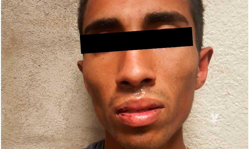 Asegurado por robo de vehículo en Tecate