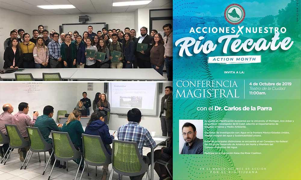 """Jóvenes de CETis 25 y UABC finalistas del """"Río Tecate Challenge 2019"""": Diana Vázquez"""
