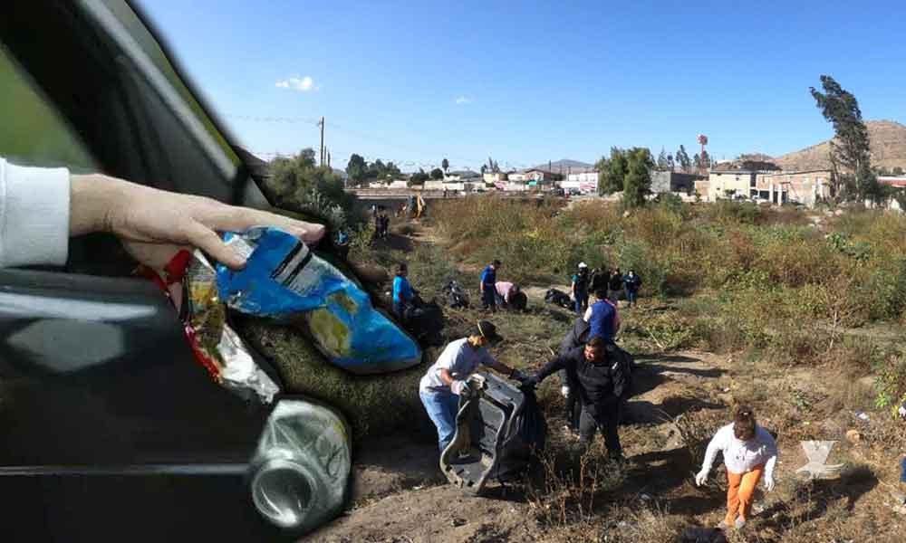 Multas hasta de 250 mil pesos a ciudadanos que contaminen o ensucien el Río Tecate