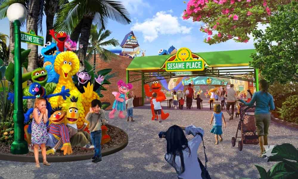 Abrirán en Chula Vista parque temático de Plaza Sésamo