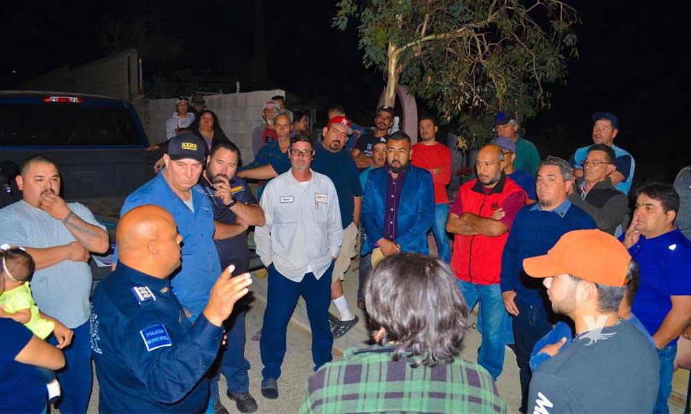 Atiende Seguridad Ciudadana de Tecate llamado de personas afectadas de la línea