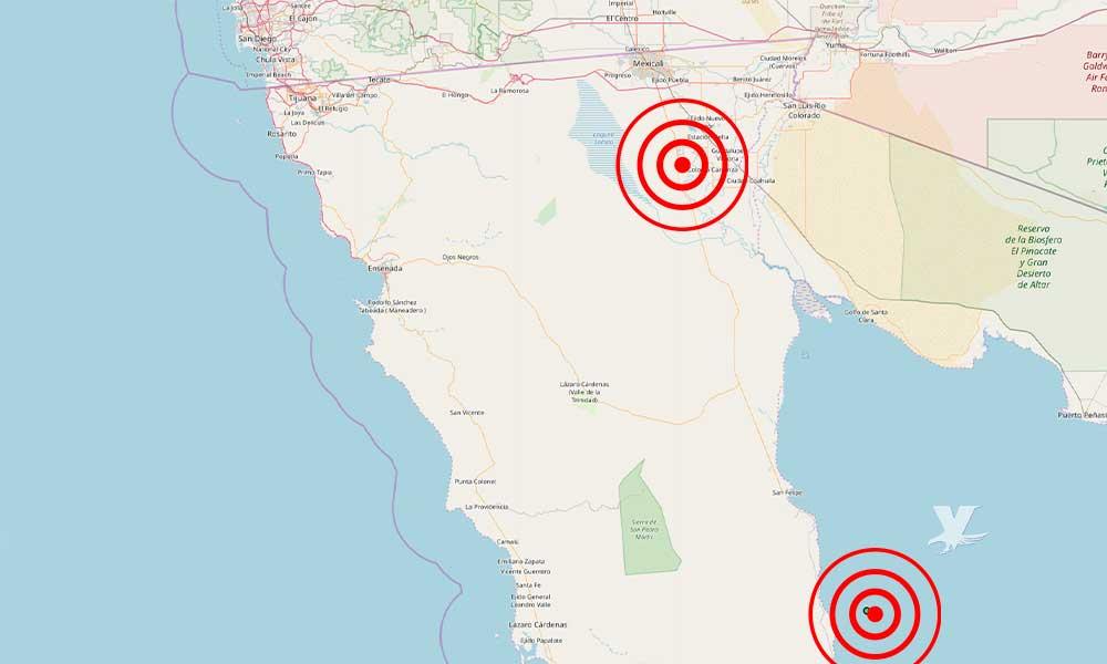 Dos sismos en las últimas 24 horas en BC: Sismológico Nacional