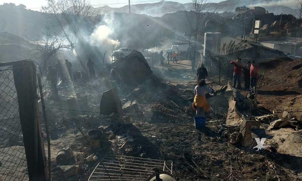 Tres muertos y 237 viviendas calcinadas el saldo de los incendios en BC