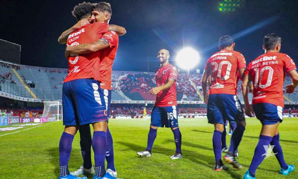 Veracruz derrota a Puebla y rompe racha de más de 1 año sin ganar