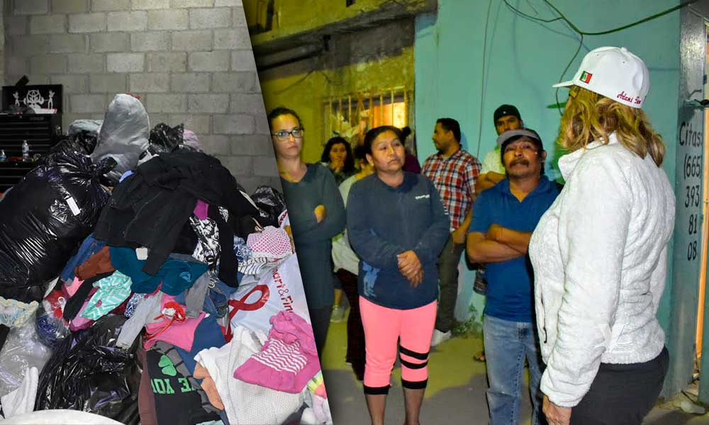 Tecate se une en apoyo a las familias afectadas por los incendios