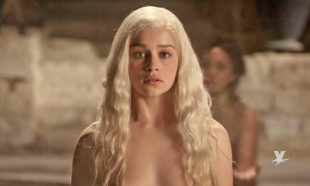 Emilia Clarke manifiesta que la presionaron para desnudarse en 'Game of Thrones'
