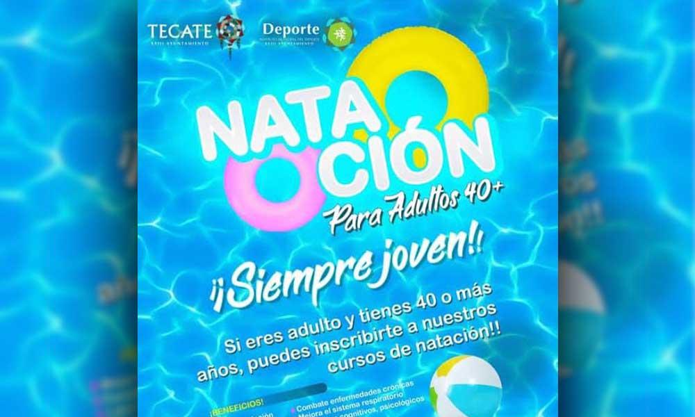 El Instituto Municipal del Deporte ofrece clases para mayores de 40 años en Tecate