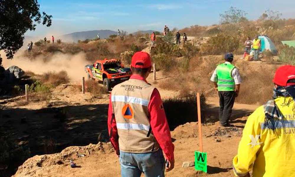 Reitera Protección Civil medidas de seguridad para Baja 1000