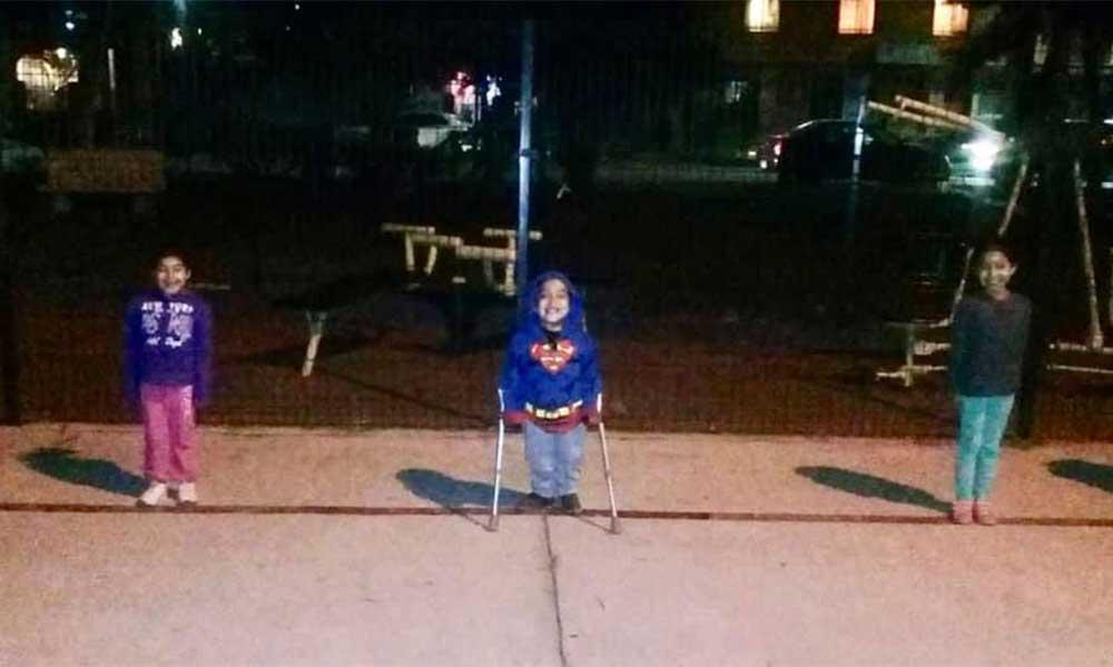 Con 5 años, Santiago Camacho es un ejemplo de las ganas de hacer deporte en Tecate