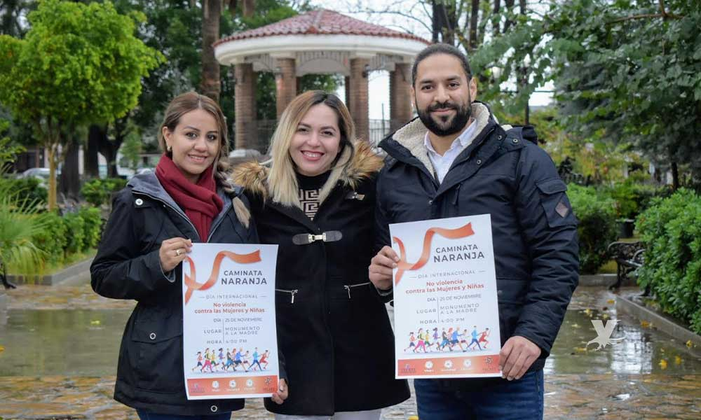 Invitan a caminata naranja por el Día Internacional de la No Violencia contra las Mujeres y Niñas