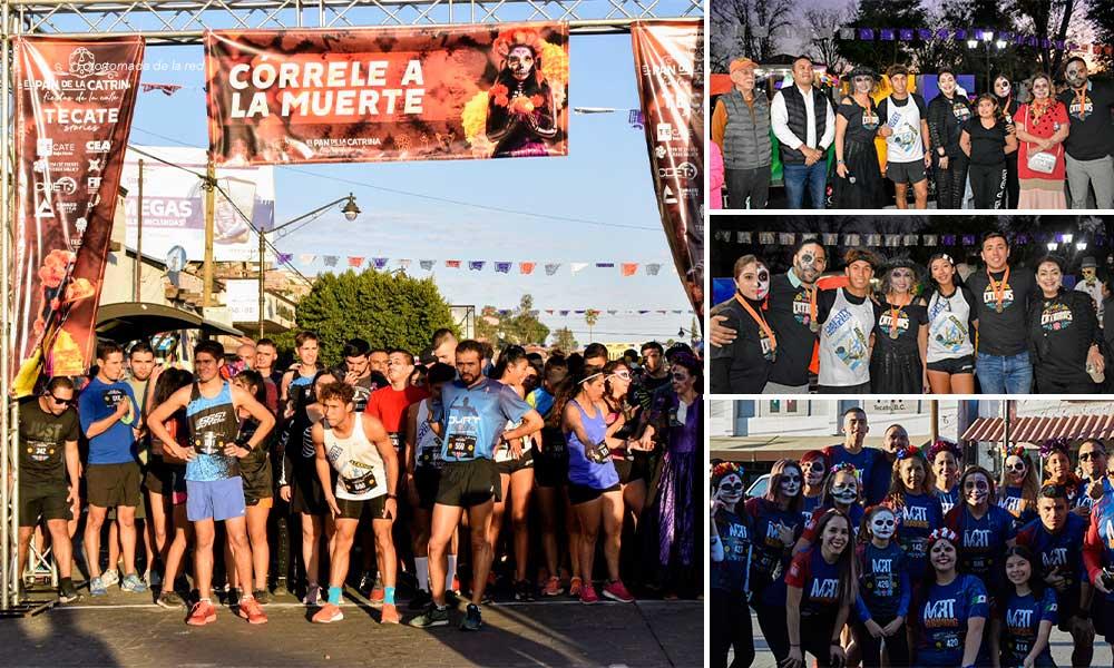 """""""Córrele a la muerte"""", el deporte y la tradición corren por primera vez en Tecate"""