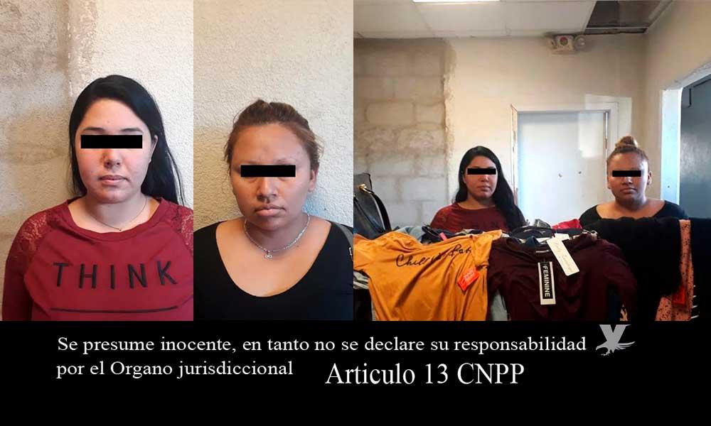 Detenidas por robo a tienda Milano en Tecate