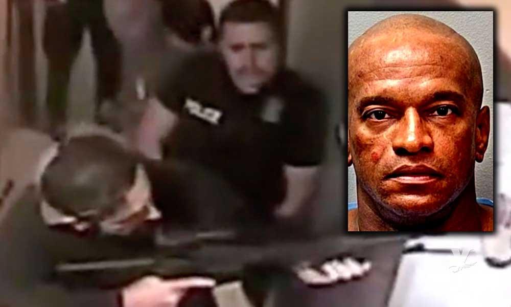(VIDEO) Detienen a hombre desnudo en hotel, horas antes había secuestrado a una niña de 8 años
