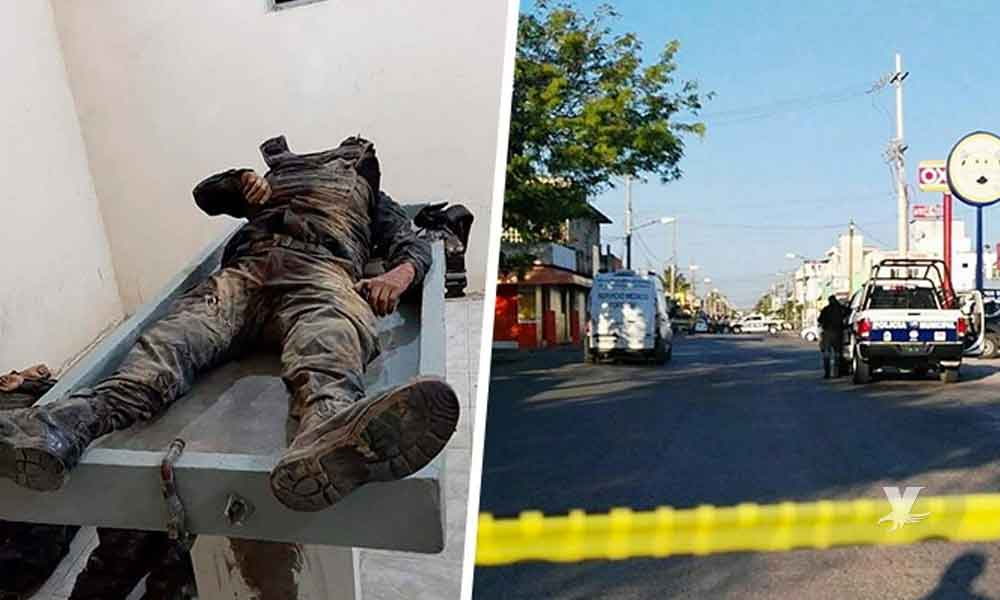 Comando armado embosca y mata a 5 Policías Estatales