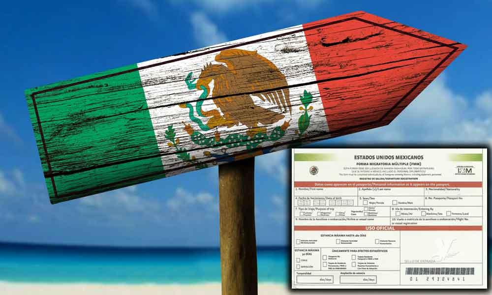 Estadounidenses deben tramitar un permiso para viajar a México