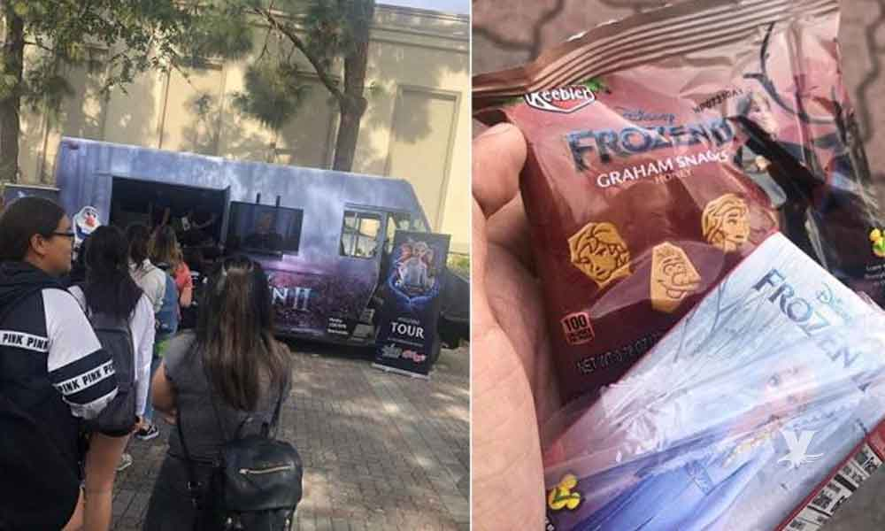 Camión de Frozen lleva magia a las calles de San Diego