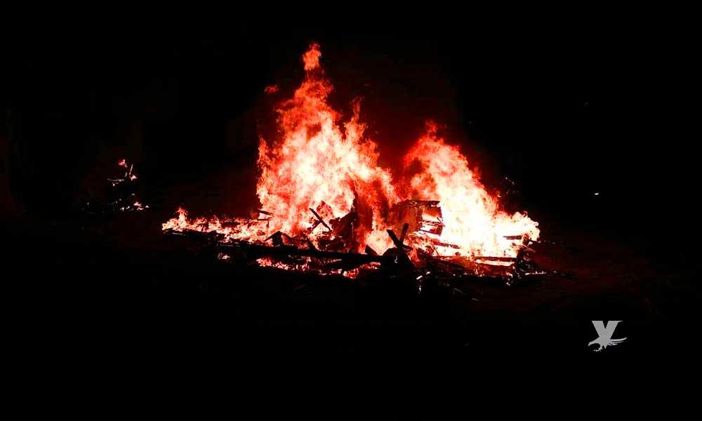 Recibe Policía Municipal 17 denuncias por quema de basura y fogatas en Tecate
