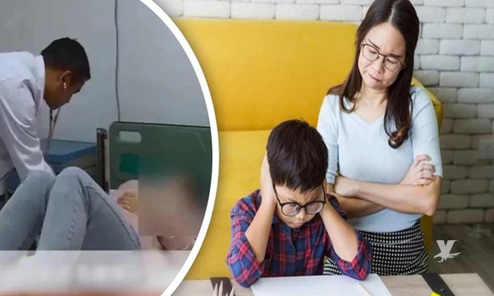 Madre sufre infarto porque su hijo no entendía la tarea