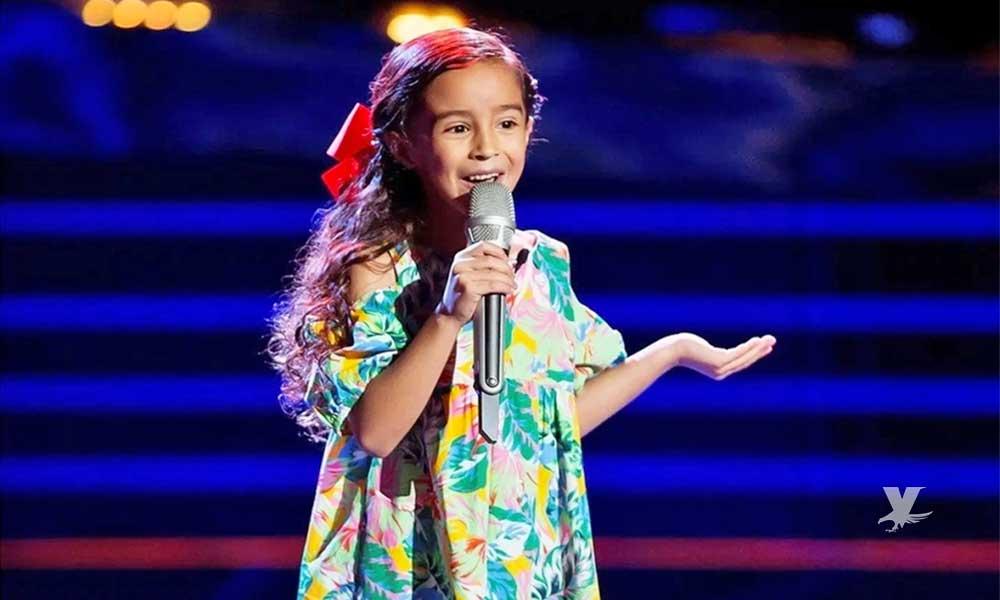 Marian Lorette cantante de 'La Voz Kids' es dada de alta