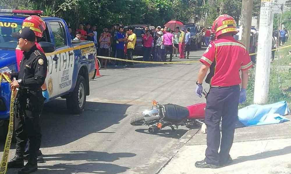 Ladrones matan a pedradas a niño mientras intentaban robar la moto en la que viajaba junto a su padre