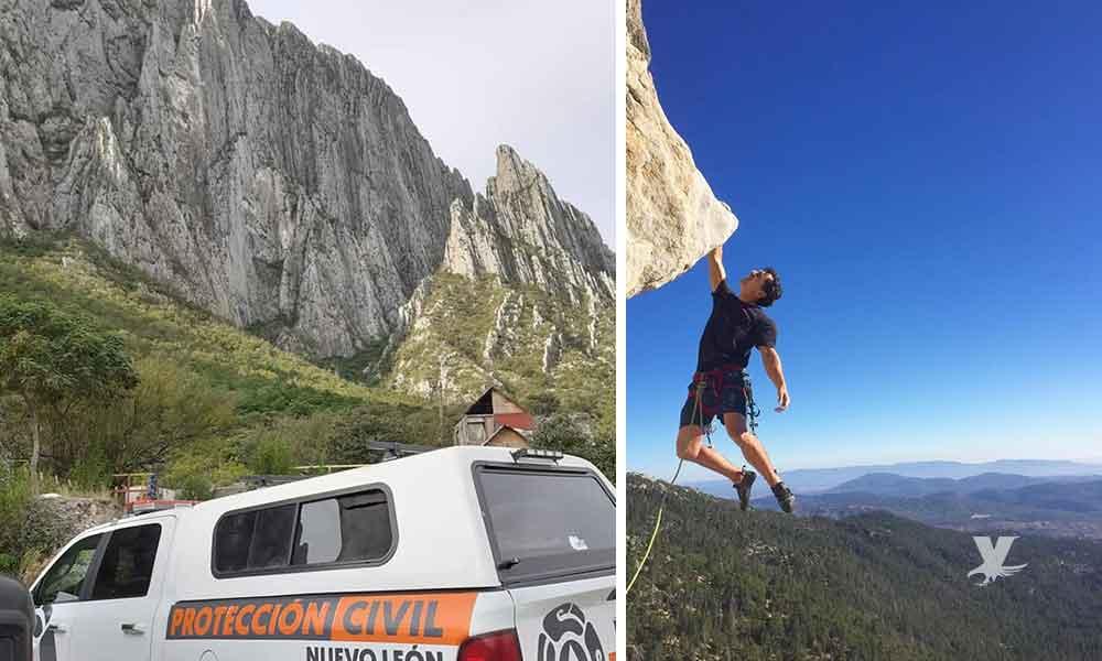 Famoso escalador internacional muere en Nuevo León al caer de acantilado de 300 metros