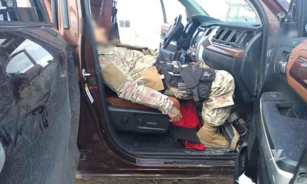 Comando armado se enfrenta a militares, se reportan 7 muertos y 3 heridos