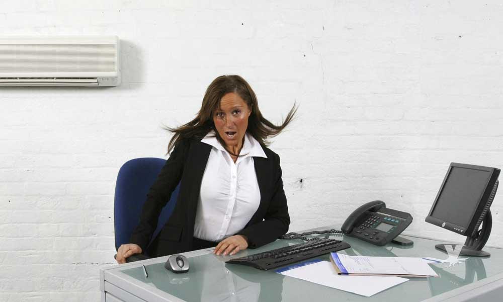 Aire acondicionado puede ocasionar alergias y enfermedades en las oficinas