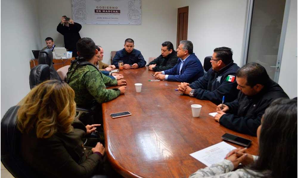 Continúa coordinación regional para la construcción de la paz en Tecate