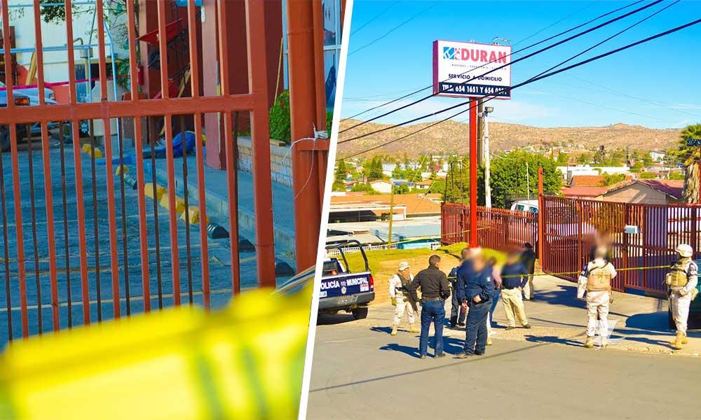 Hombre es lesionado con arma de fuego en Tecate