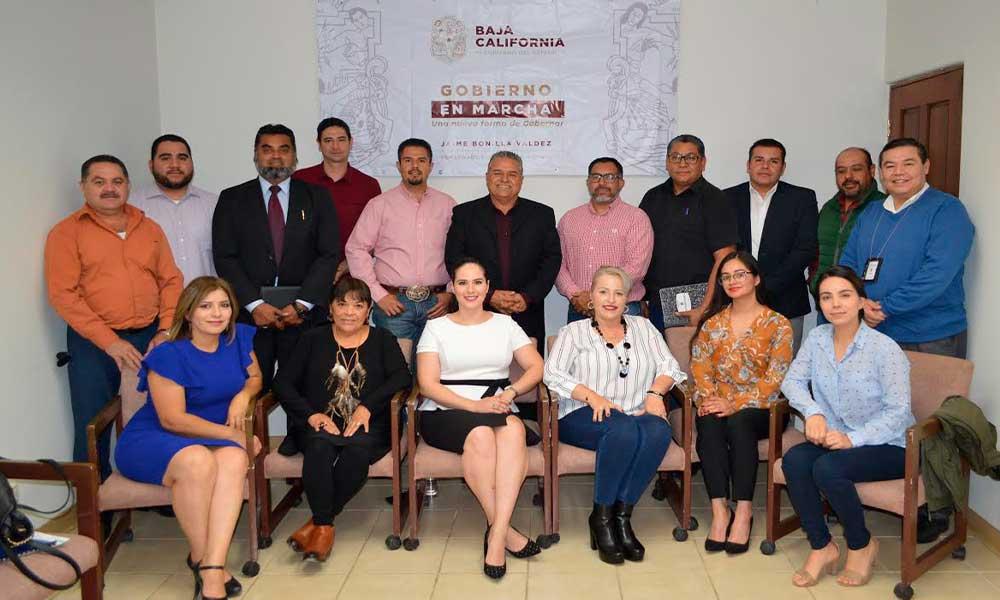Presentan a nuevos titulares de Gobierno del Estado en Tecate