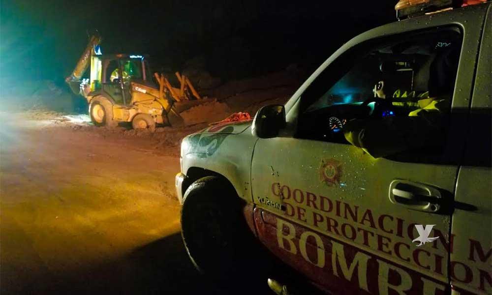 Coordinador Estatal de Protección Civil visita Tecate y hace recorrido