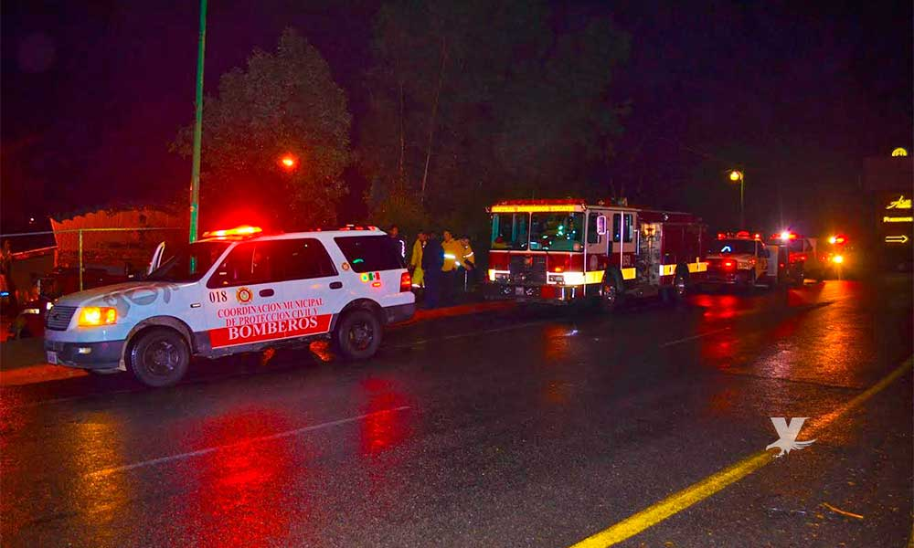 Primer día de lluvia sin incidentes mayores en Tecate: Protección Civil