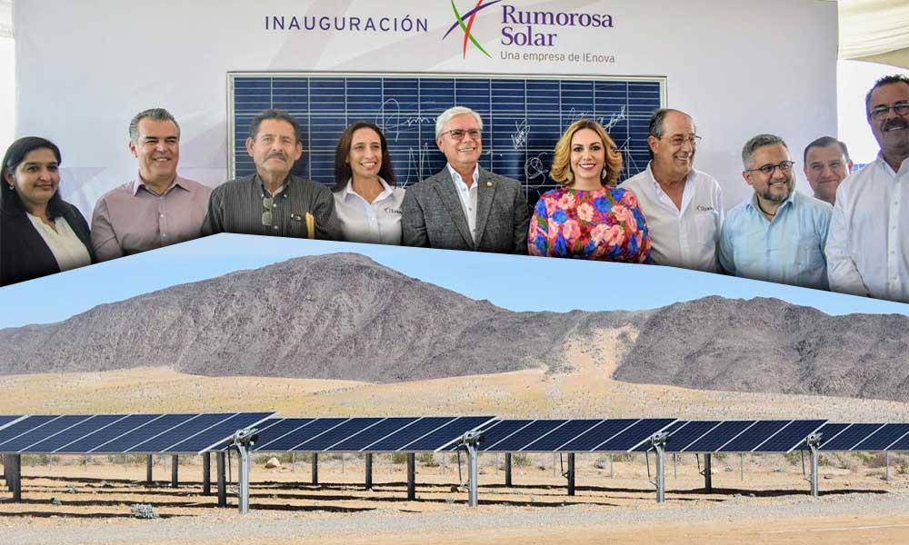 Rumorosa Solar inicia actividades con Parque Fotovoltaico en Tecate