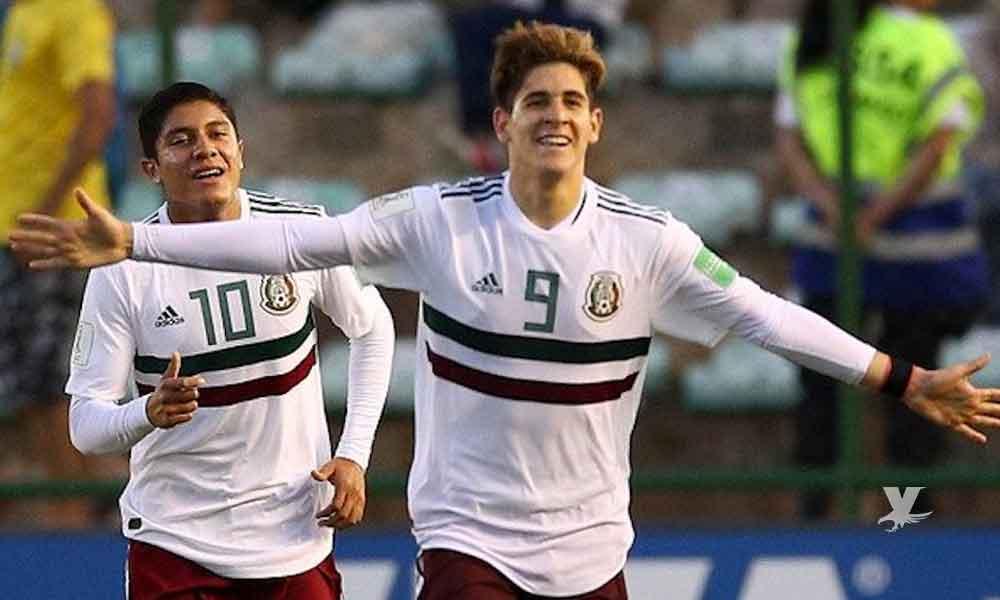 (VIDEO) Gol de Santiago Muñoz contra Japón es reconocido como el mejor del Mundial Sub-17