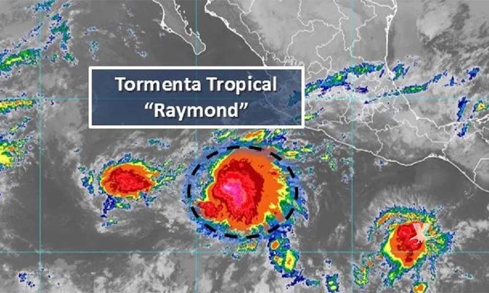 Tormenta tropical Raymond tocará la península de Baja California el fin de semana