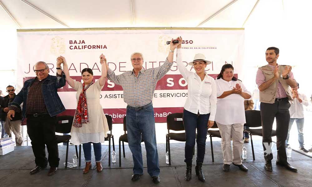 Gobierno de Baja California al rescate de 3 mil 500 familias de fracc. Valle de las Palmas