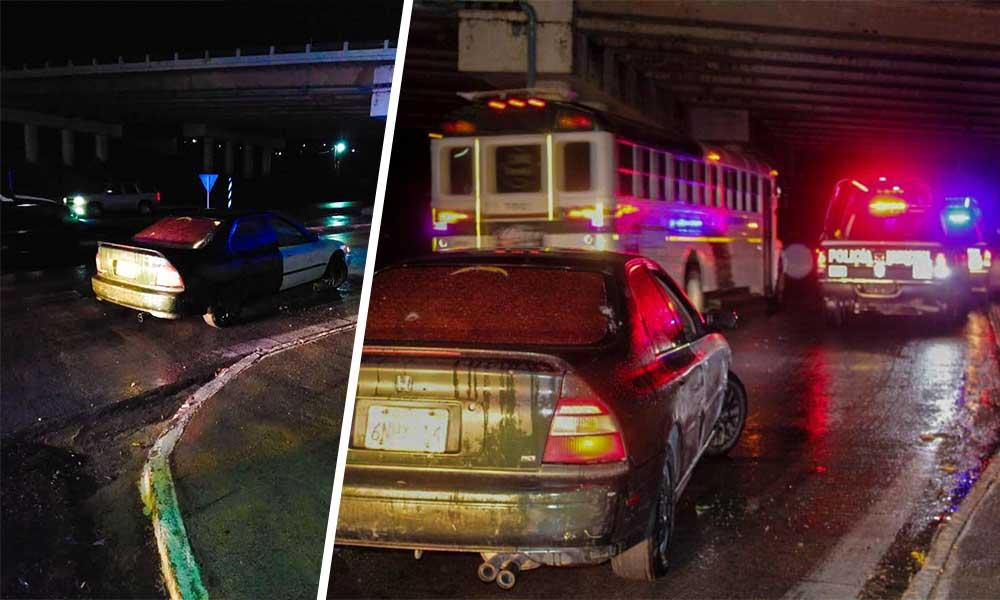 Encuentran vehículo abandonado en Tecate