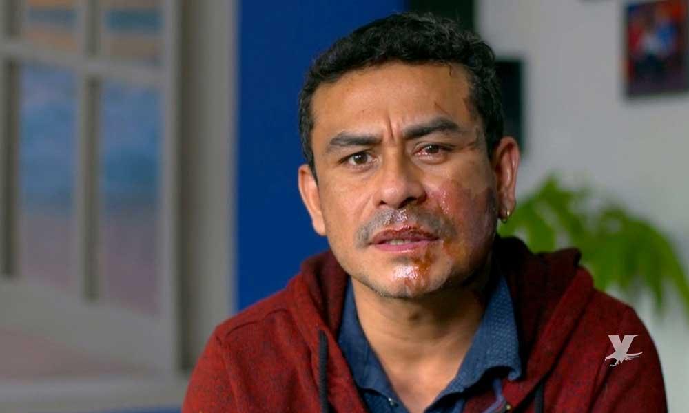 (VIDEO) Veterano de guerra lanza ácido en el rostro a hombre de origen hispano