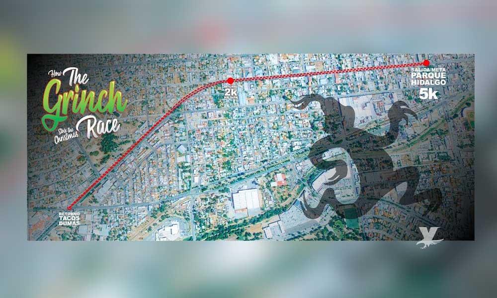 Este 14 de diciembre será la carrera navideña del Grinch en Tecate; toma vías alternas