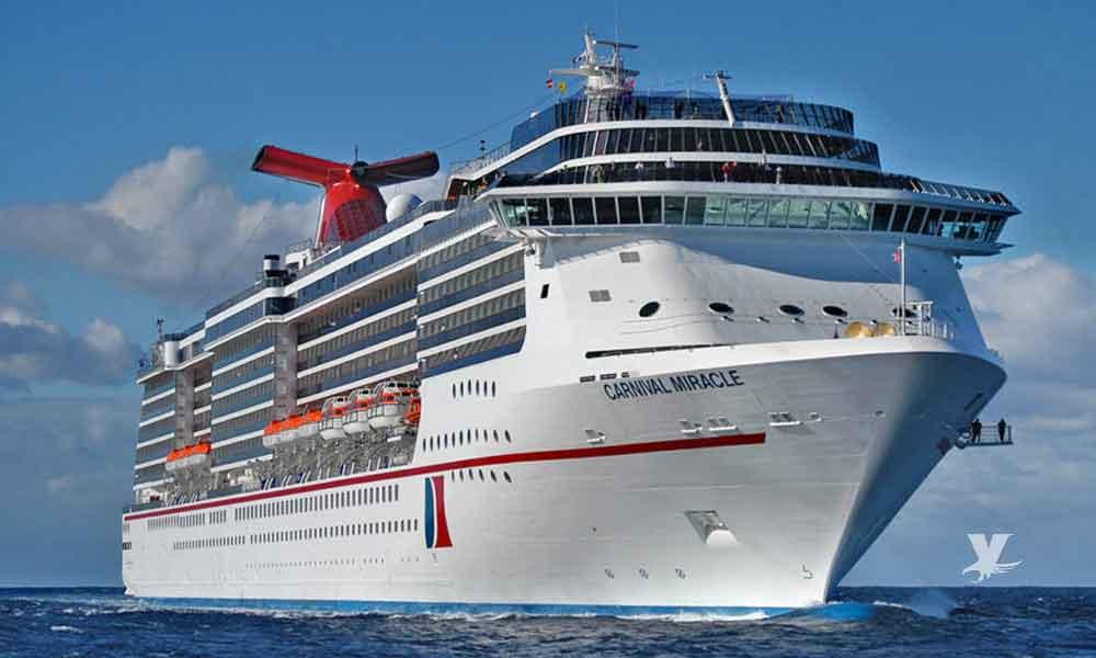 """Regresa crucero """"Carnival Miracle"""" a San Diego con ruta a Ensenada, la Riviera Mexicana y Hawái"""