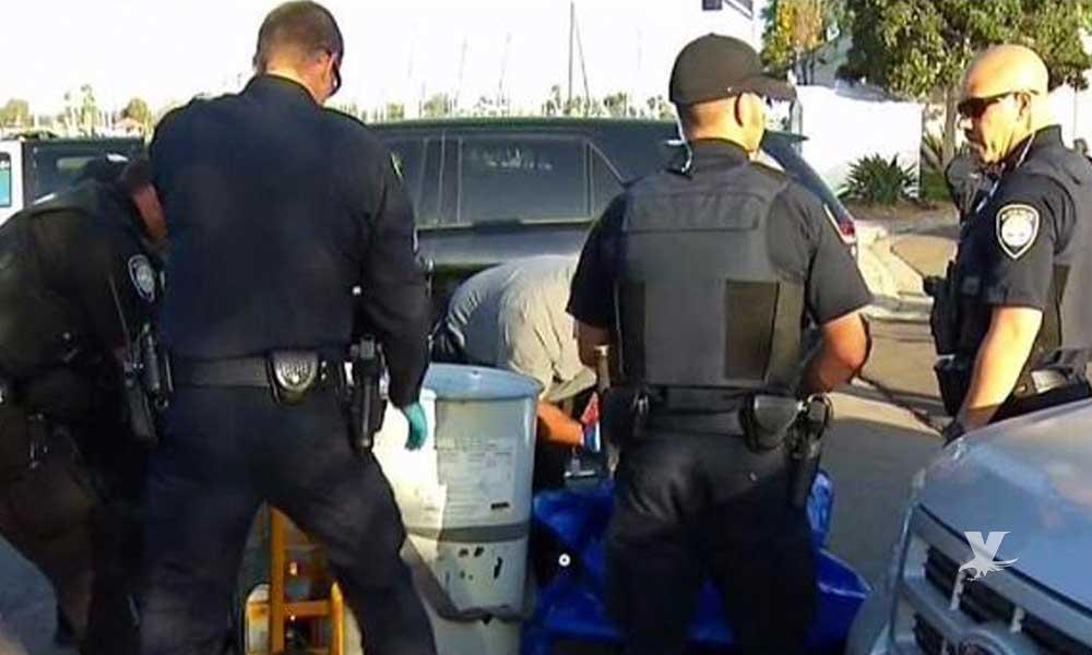 Hombre apuñaló 66 veces a su amigo y metió el cuerpo en un tambo para arrojarlo al mar de San Diego