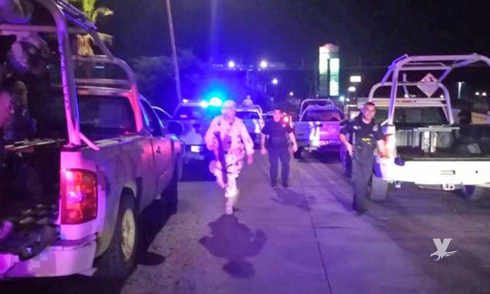 Policías Municipales y presuntos secuestradores se enfrentan a disparos en Tijuana