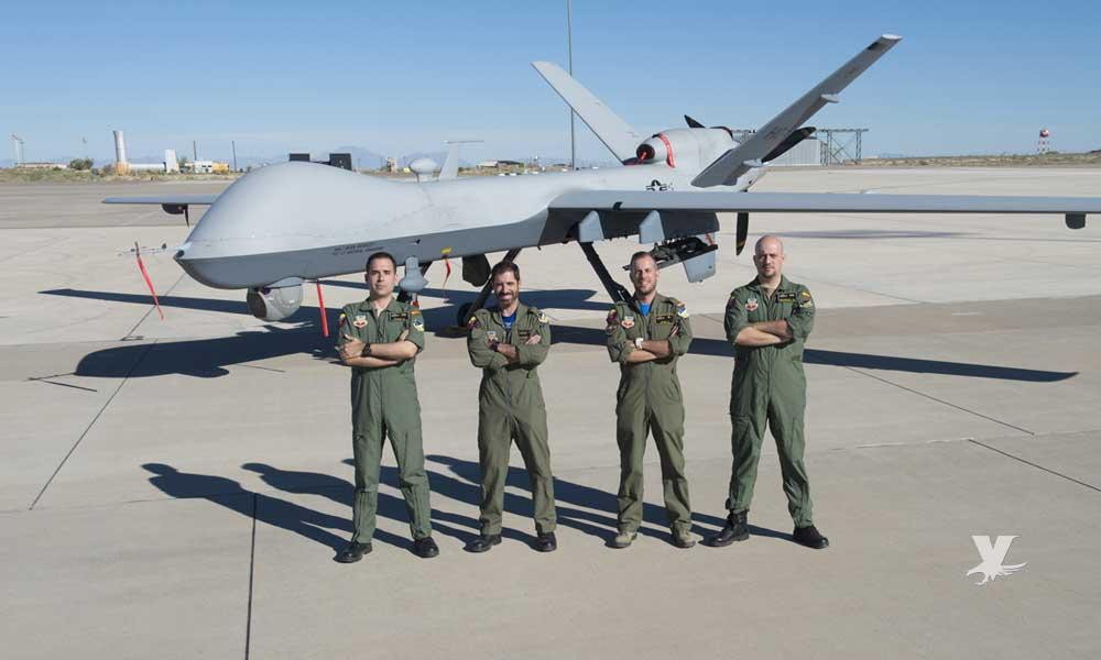 Dron de grado militar vigilará San Diego a partir del 2020