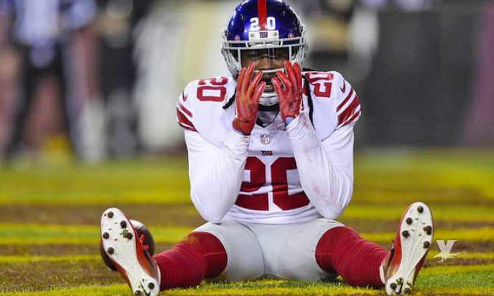 Despiden a jugador lesionado de los Giants por ofender a aficionado por medio de Twitter
