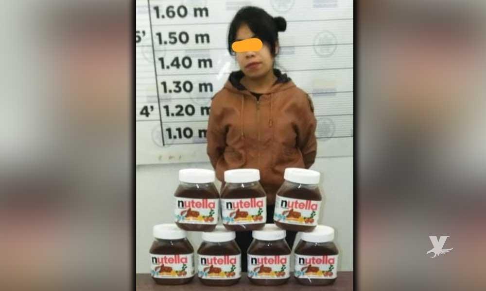 Detienen en Rosarito a joven que intentó robar 7 botes de Nutella