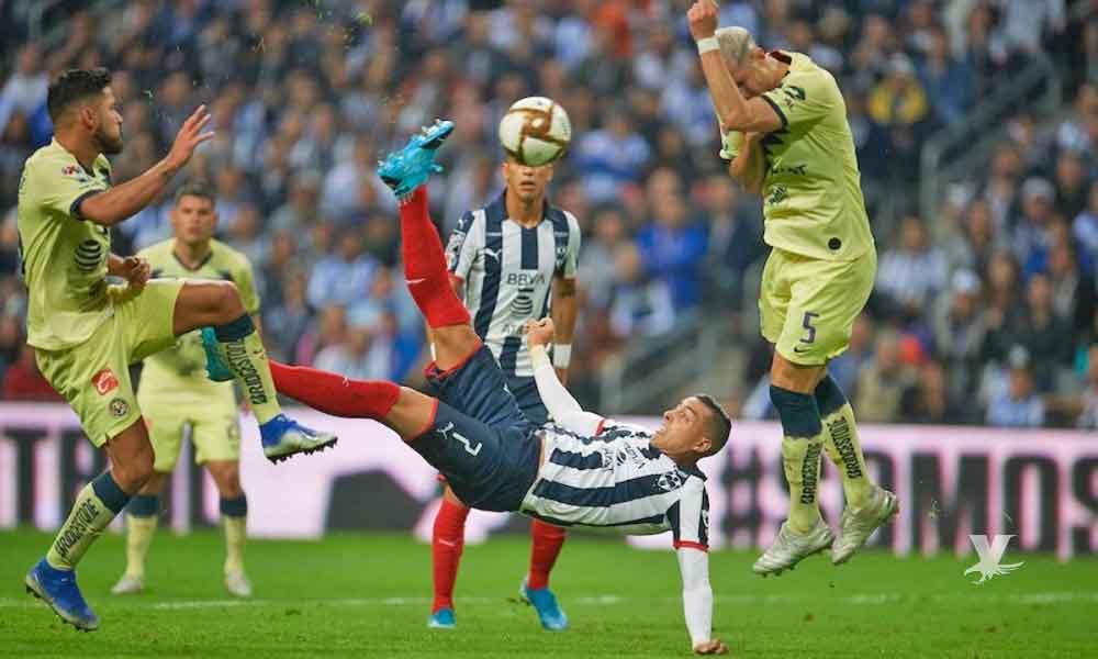 Monterrey derrota al América en el juego de ida de la Final