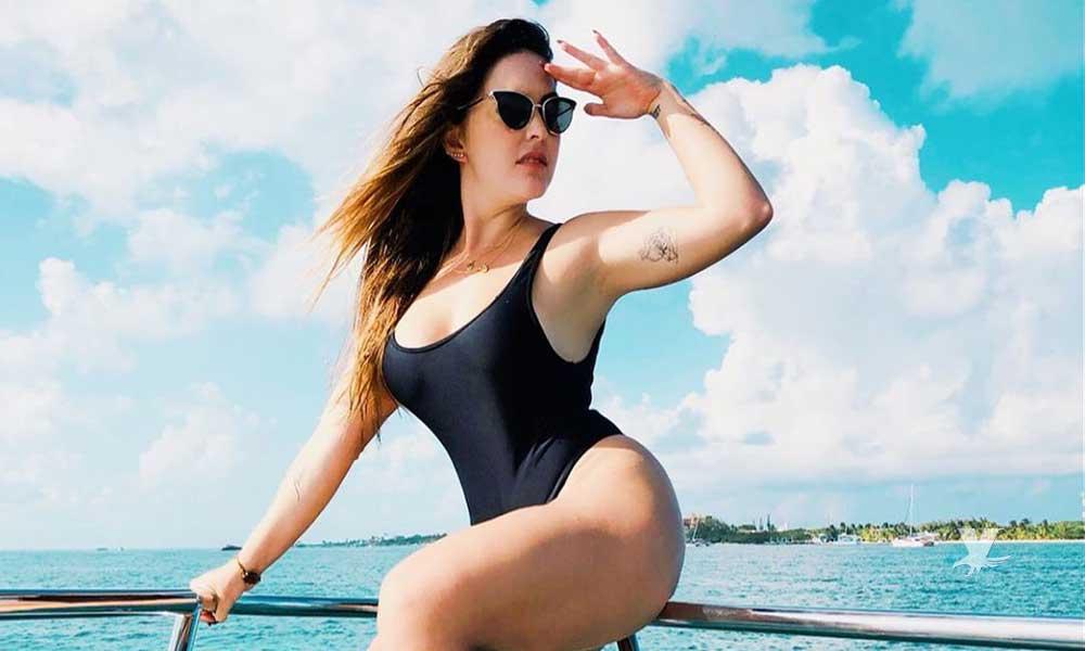 (FOTO) Con diminuto bikini Patty López de la Cerda cautiva a sus seguidores