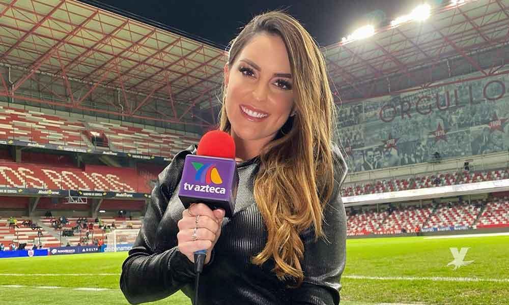 Patty López de la Cerda anuncia su salida de Azteca Deportes